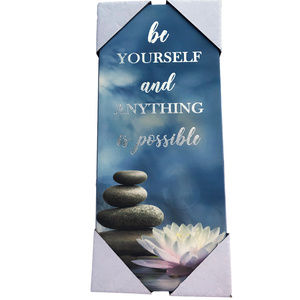 ♛5/$25♛ NWT Wall Decor Anything is Possible Sign